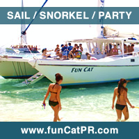 Sail Snorkel Party The Fun Cat Catamaran Puerto Rico Caribbean
