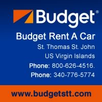 budget rent a car st.thomas usvi caribbean